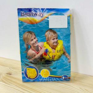 BW, Bestway, Жилет для плавания Тропический 43х30 см, уп.24