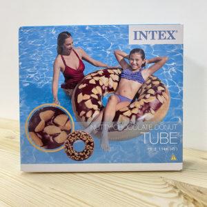 """Intex, Надувной круг """"Пончик шоколад"""" 114см, уп.12"""