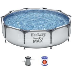 Каркасный бассейн Bestway 56408 (305х76, карт. фильтр)