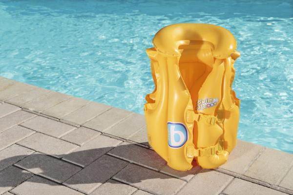 BW, Bestway, Жилет для плавания Swim Safe, ступень В, 51х46см, уп.24 (3)