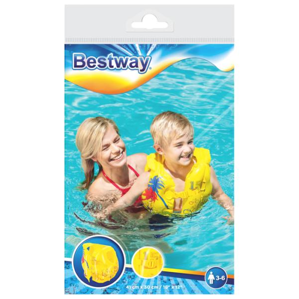BW, Bestway, Жилет для плавания Тропический 43х30 см, уп.24 (3)