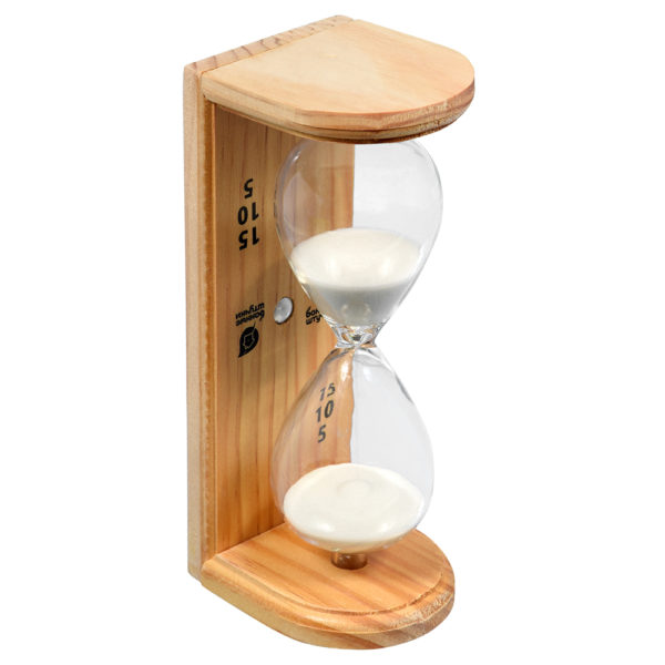 """Часы песочные """"Люкс"""" 6.5х9х19.5см"""