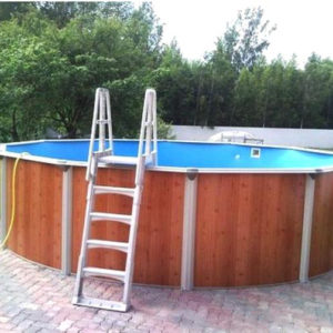 Морозоустойчивый круглый бассейн Atlantic pool Esprit-Big (5,5x1,35)