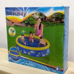 Надувной бассейн Bestway 57326 (152х38) с брызгалкой Пчелки