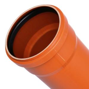 Труба для наружной канализации д=110*3000 НК красная